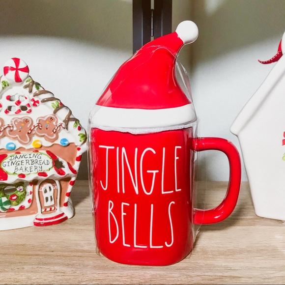 Rae Dunn Other Rae Dunn Christmas Jingle Bells Topper Mug New Poshmark